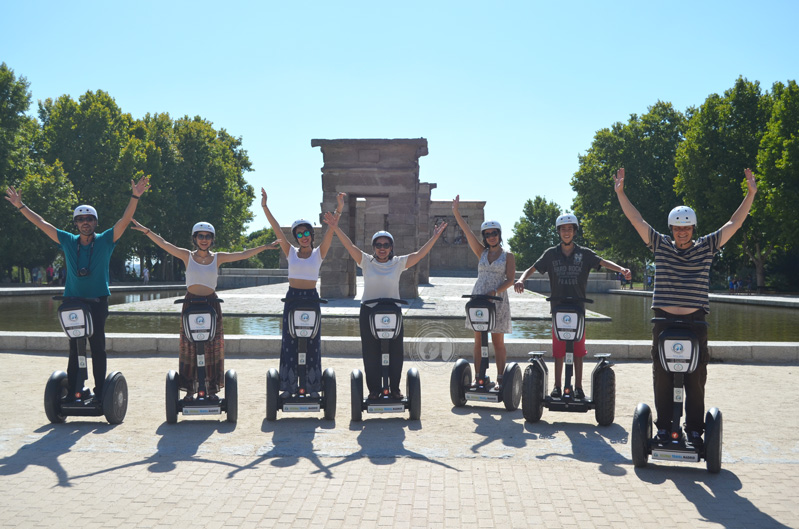 segway tour Madrid Tours. Guided tour on segway.