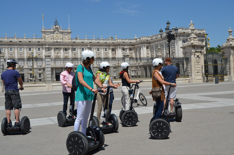 Segway tour Madrid city center