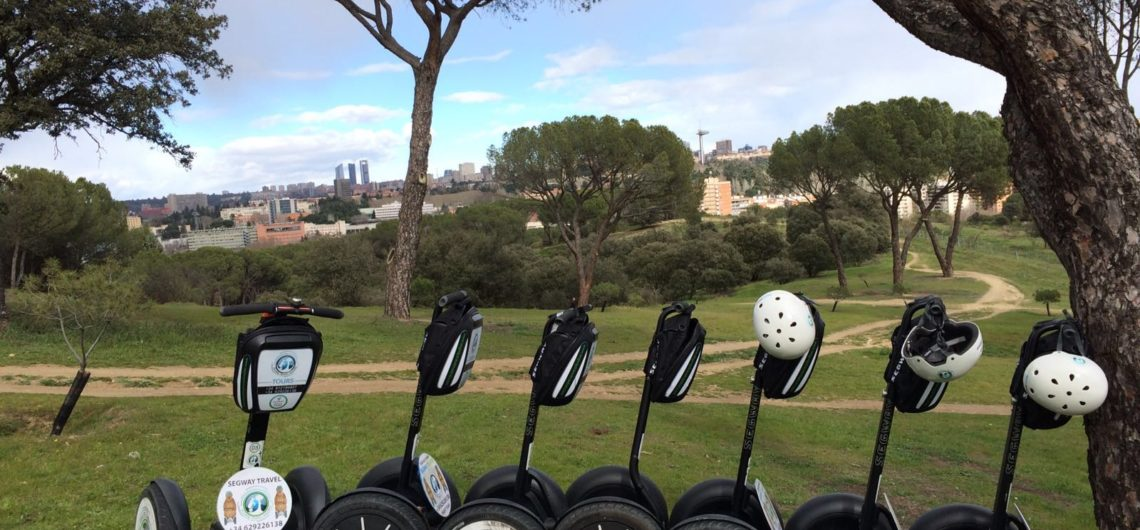 Segway tours en Madrid. Rutas segway travel Madrid.