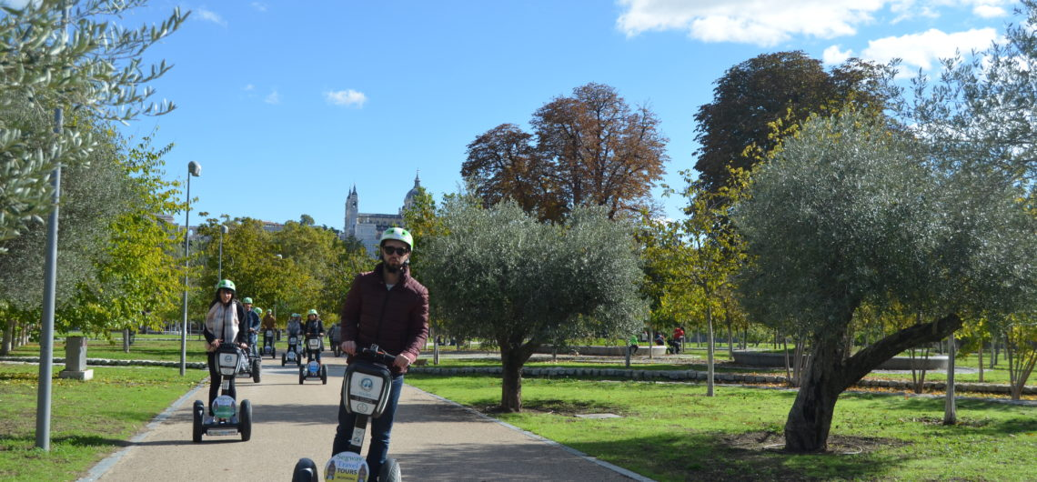 Madrid tours segway