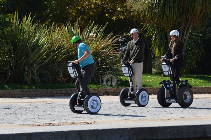 segway tours Madrid. Segway travel Madrid.