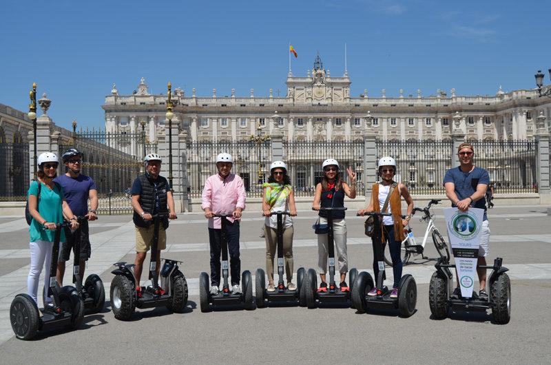 Segway Madrid tour en segway