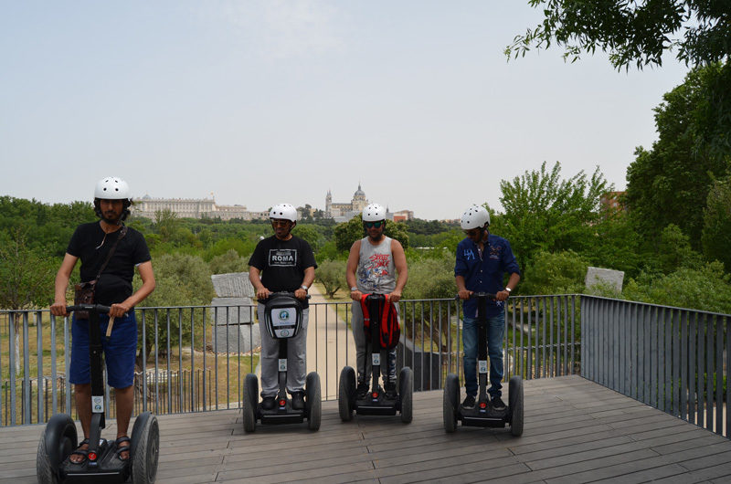 Turismo segway. Segway Travel-Madrid. Tour segway