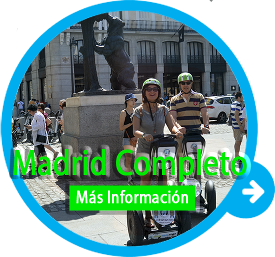 tour segway madrid completo